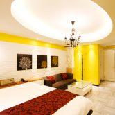 明るい雰囲気のお部屋