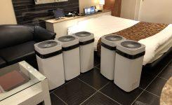 【感染症対策】高性能空気清浄機AirdogX5sを全室導入しました。